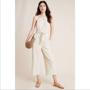 NWOT SOLD OUT | gingham jumpsuit | Anthropologie